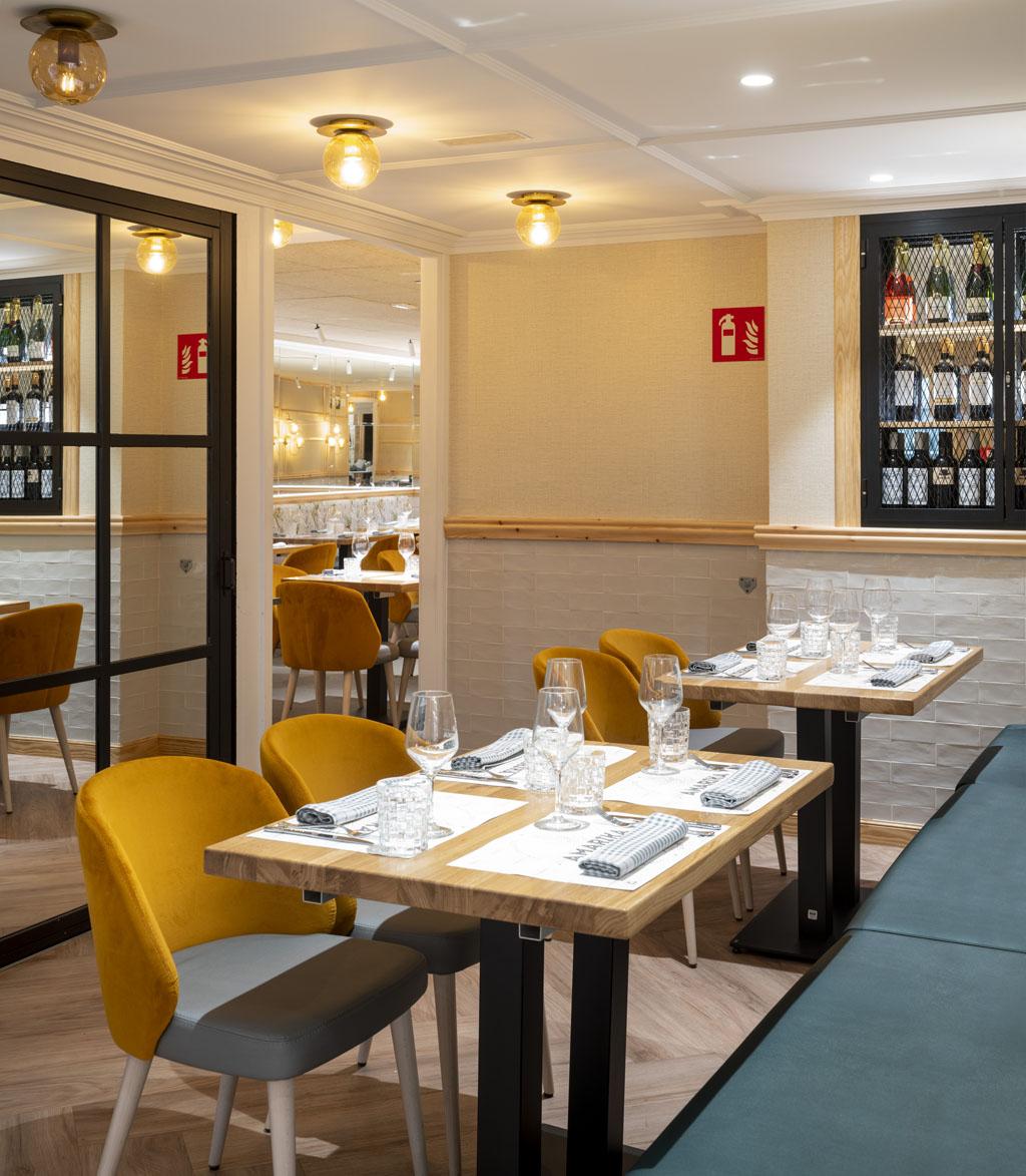 Restaurante Amarika, proyecto Modulo_Erlantz Biderbost Fotógrafo de arquitectura e interiores