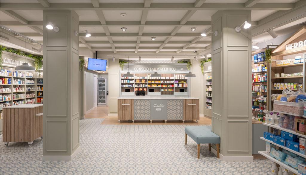 Farmacia Arilla-Erlantz Biderbost Fotógrafo de Arquitectura e Interiores