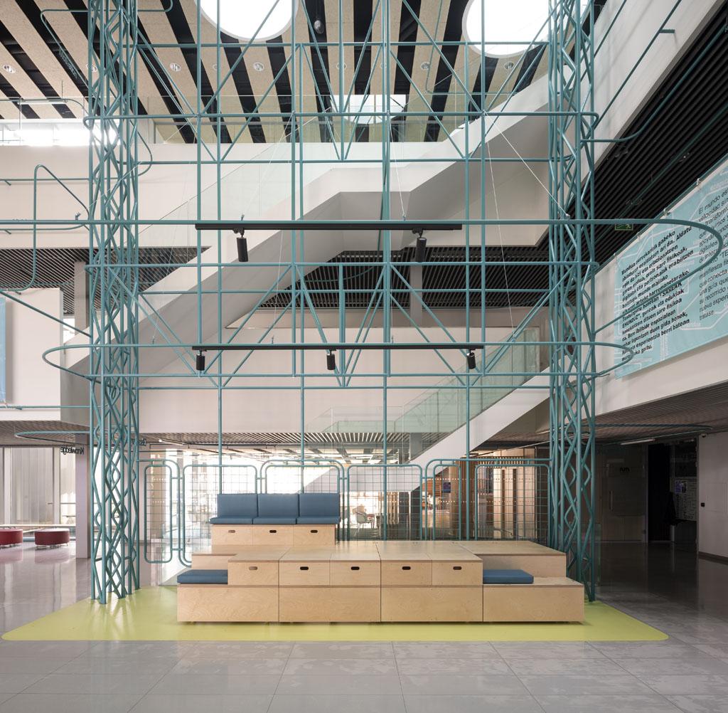 Universidad Mondragón, Gipuzkoa Proyecto: Estudio SPN - Erlantz Biderbost fotógrafo de arquitectura e interiores