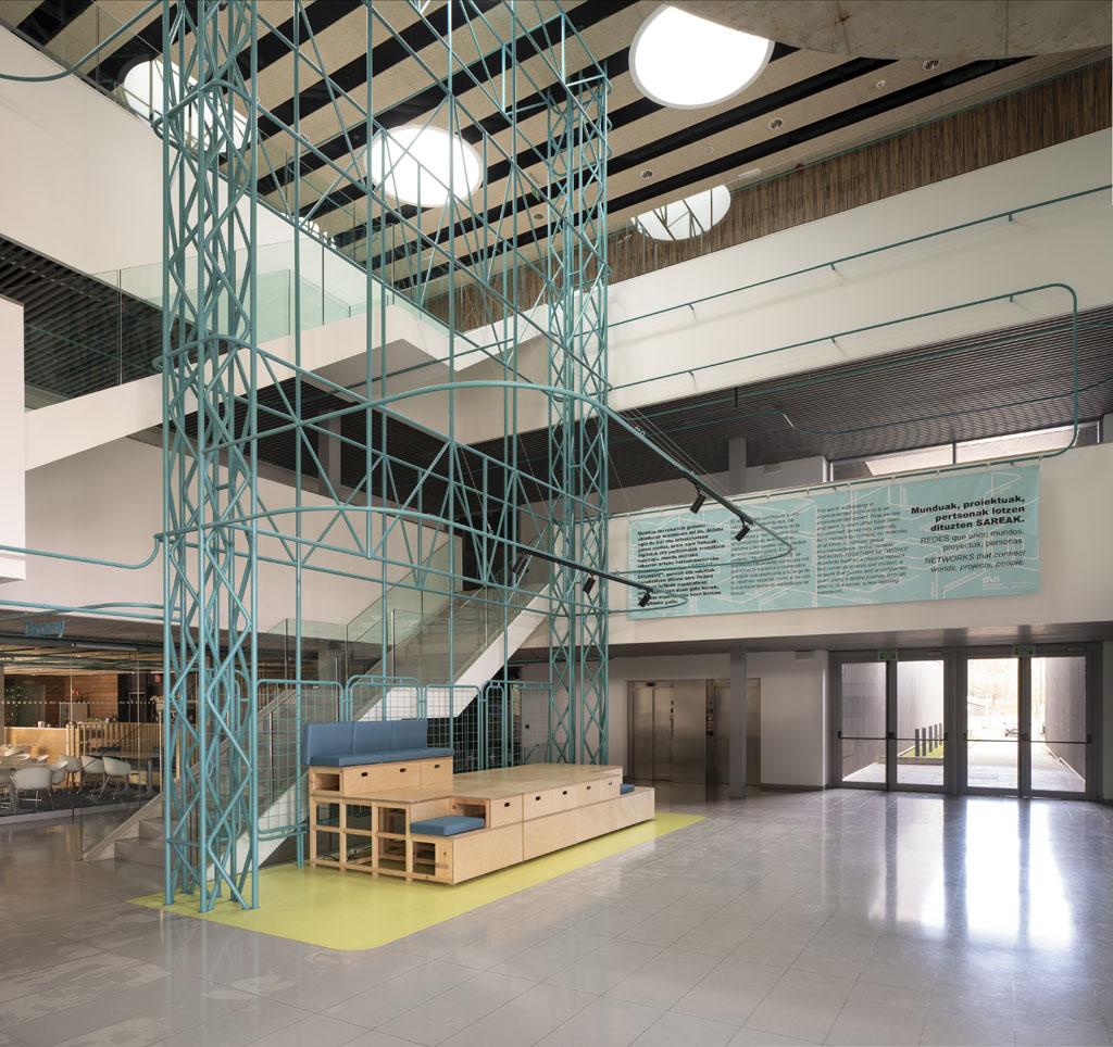 Universidad Mondragón, Gipuzkoa Proyecto: Estudio SPN - Erlantz Biderbost fotógrafo de arquitectura e interiore
