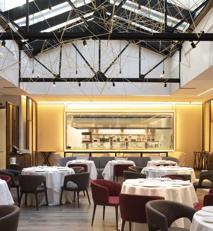 Saddle Restaurante, Madrid-Erlantz Biderbost Fotógrafo de arquitectura e interiores