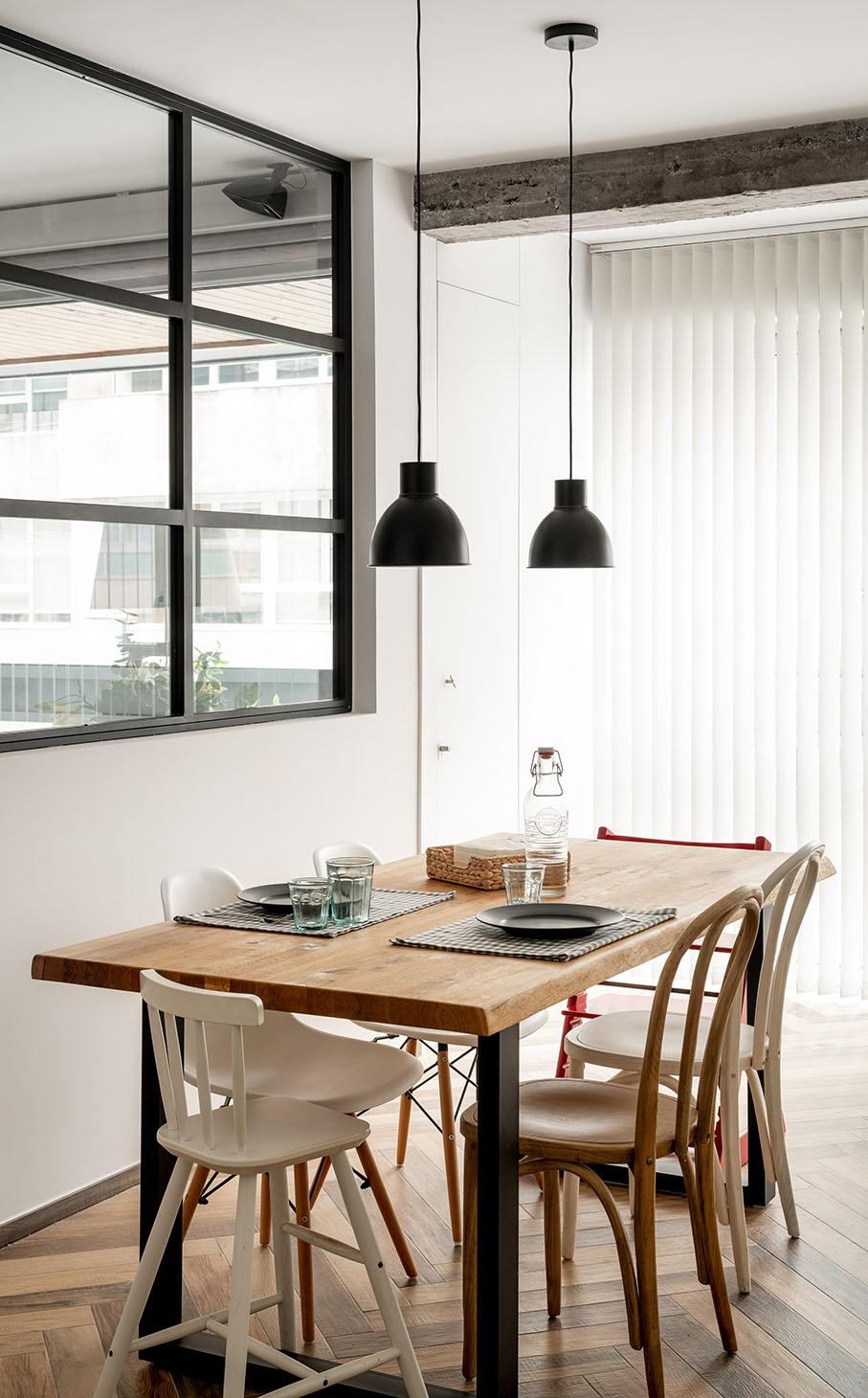Reportaje fotográfico de arquitectura - Imagen del interior de la vivienda