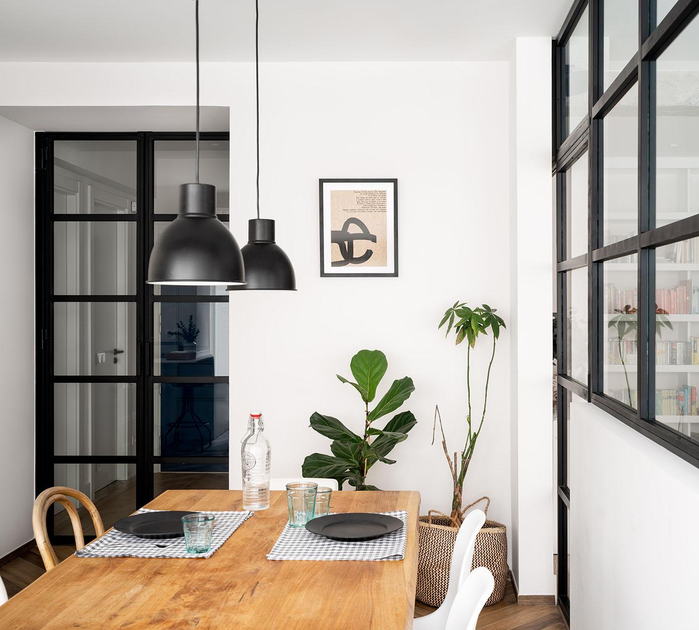 Reportaje fotográfico de arquitectura - Imagen del comedor