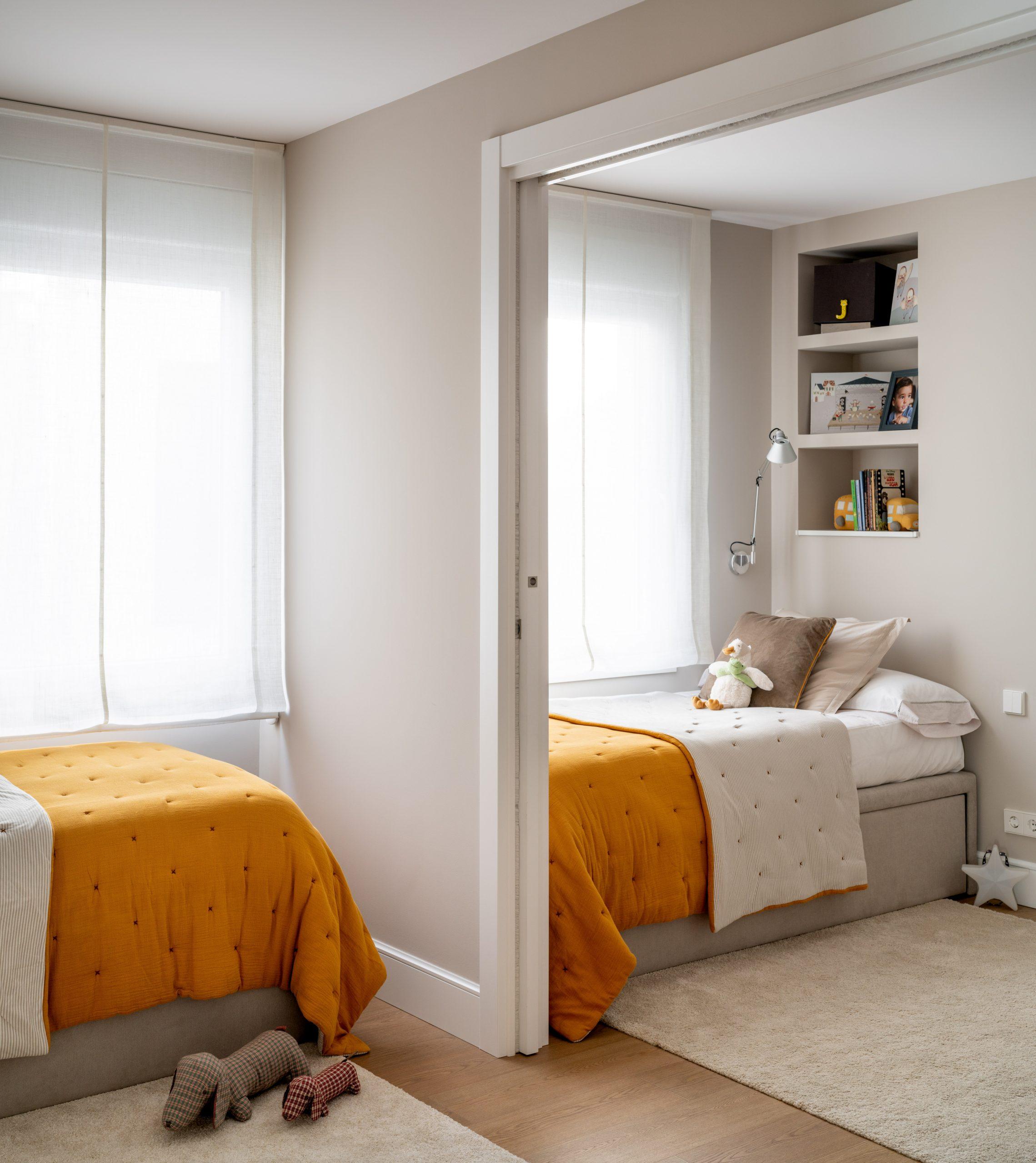 Fotógrafo de arquitectura en Bilbao - Imagen de habitación doble