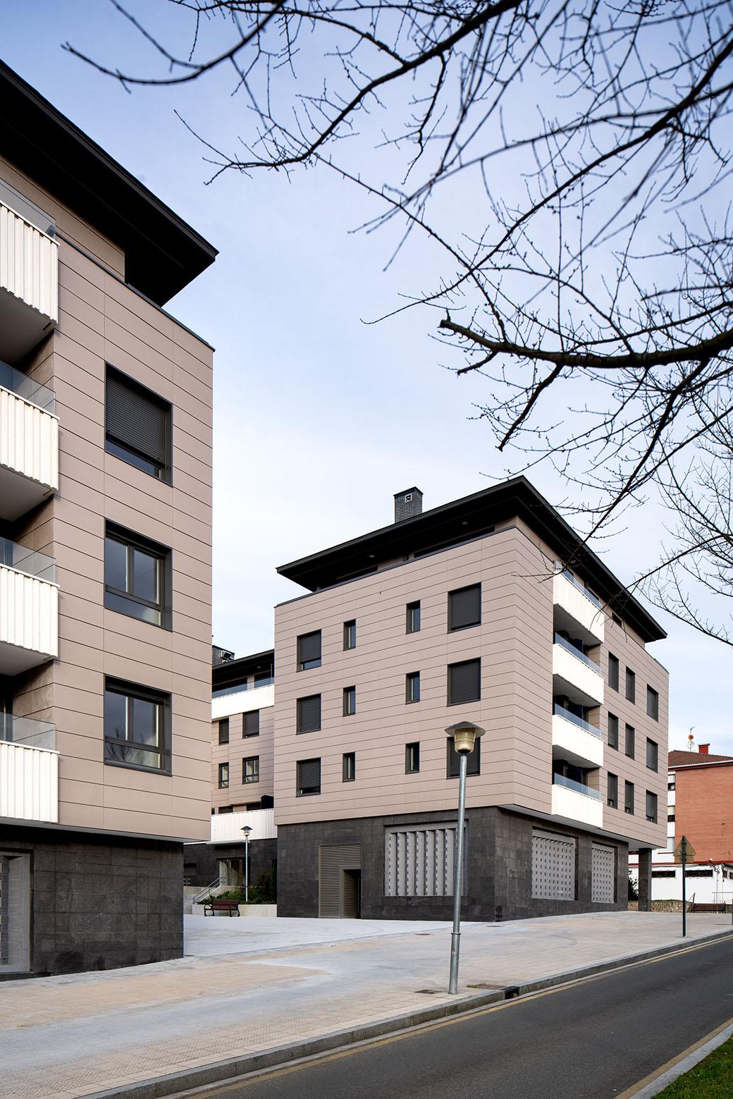 Fotógrafo de Arquitectura - Bloque de viviendas