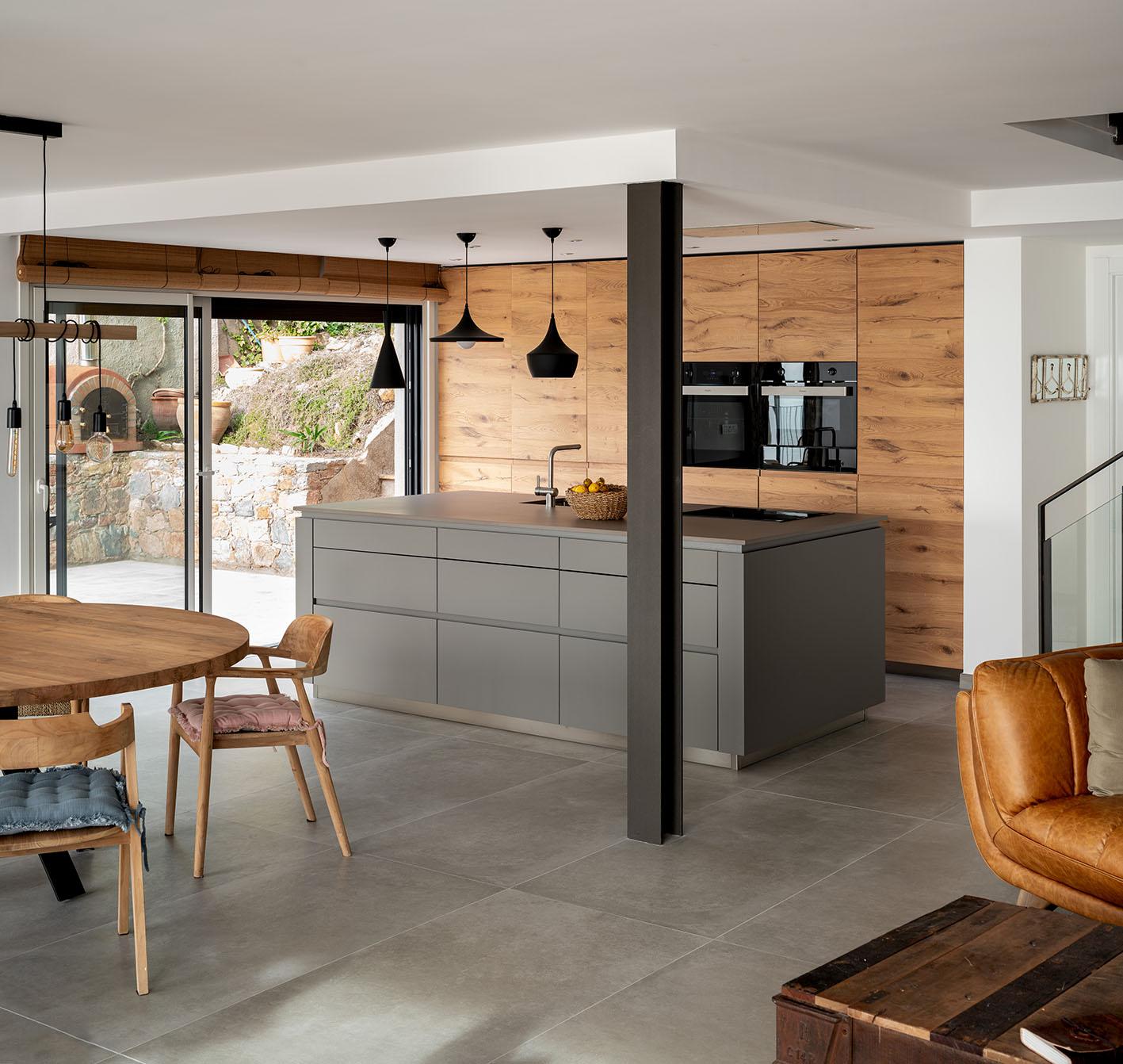 Fotografía de arquitectura - Imagen de cocina en unifamiliar
