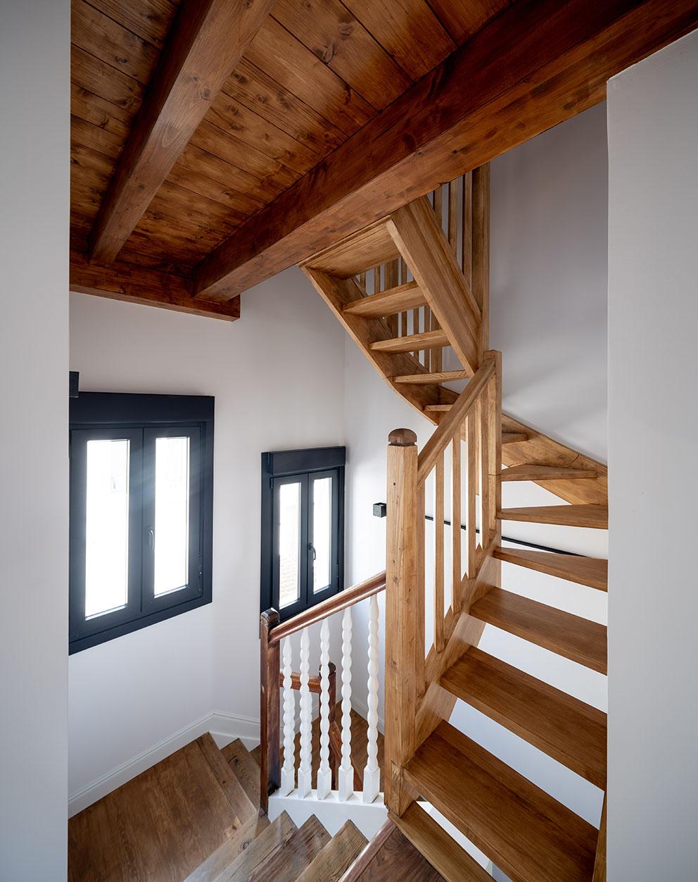 Image de escalera, Fotografía de arquitectura - Reportaje fotográfico de vivienda en Getxo
