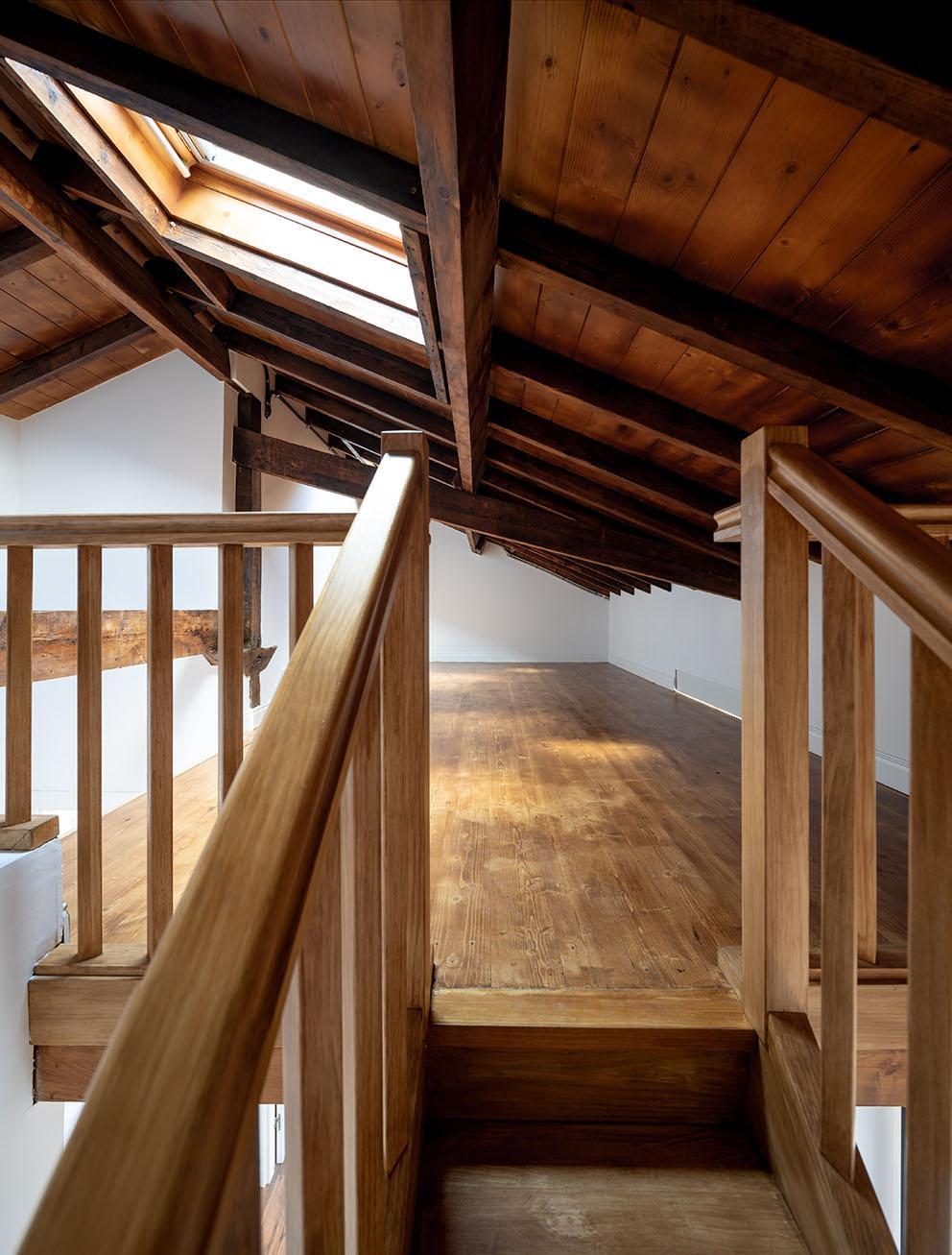 Imagen del desván, Fotografía de arquitectura - Reportaje fotográfico de vivienda en Getxo