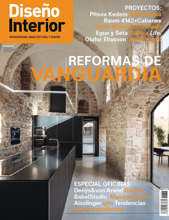 Portada 338 de Revista Diseño Interior