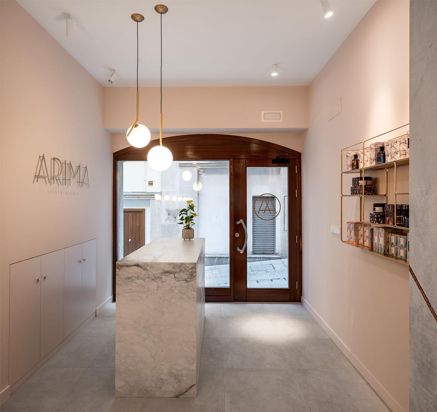 Fotografía de Arquitectura - Peluquería Arima