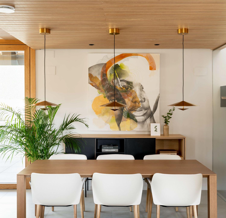 Imagen del comedor - Fotografía de arquitectura e interiores por Biderbost Photo