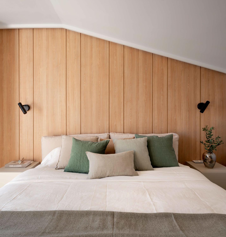 Imagen del dormitorio - Fotografía de arquitectura e interiores por Biderbost Photo