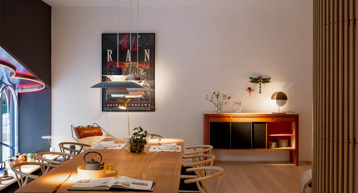 Fotografía de arquitectura - Imagen del interior de Mosel en Bilbao