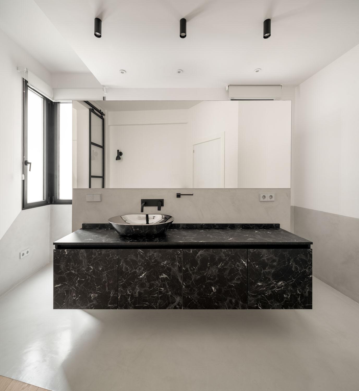 Vivienda en Bilbao, imagen del baño